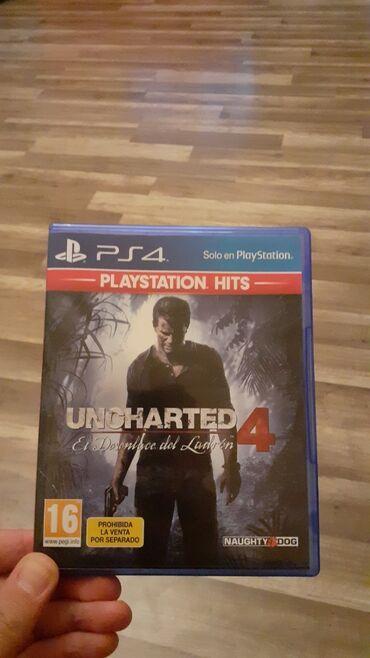 Playstation 4 de  Uncharted 4 diski  Tezedir