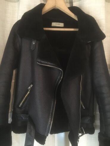 армейский куртка в Кыргызстан: Продаётся дубленка не натуралкано хорошего качества размер М 46-4