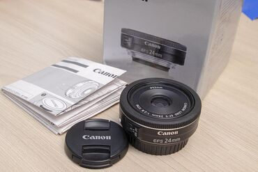 блины в Кыргызстан: Объектив Canon EF-S 24mm f/2.8 STM  Легендарный блинчик от кэнон - одн