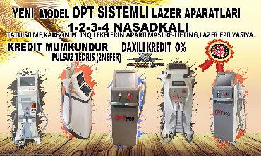 kassa aparatlari - Azərbaycan: 2-3-4 nasadkali lazer epiliyasiya aparatlari funksiyalari tatu silen