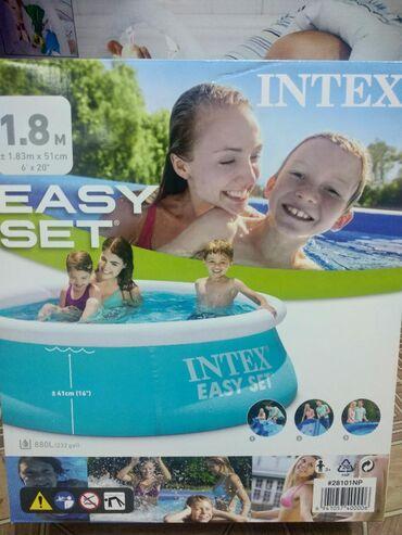 Надувные бассейны фирмы Intex Размеры:1,83м х 51 см Объем:880 литров Б