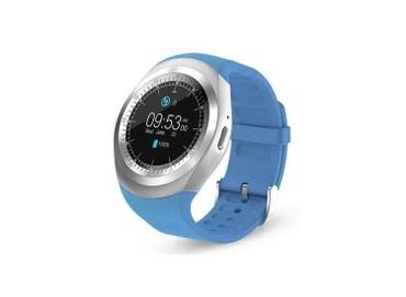 smart saati - Azərbaycan: Smart Whatch Y1 qol saatı satılır.Ağıllı saat. Zəng etmə Bluetooth
