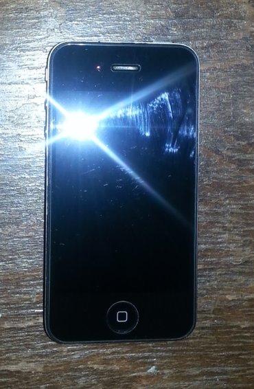 Продаю  iphone 4, цвет черный. Очень стильный. Идеал. Продаю телефон в Бишкек