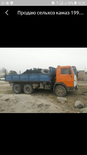 Продаю сельхоз камаз 1991г.Обшивка есть,шины новые 80%. в Бишкек