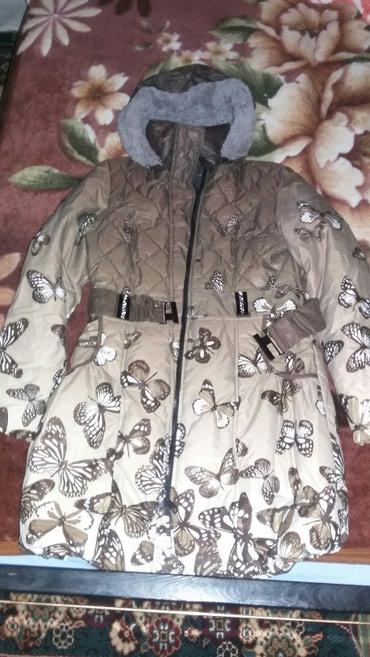 Красивая демисезонная куртка , надевали пару раз.  Размер 42-44 в Токмак