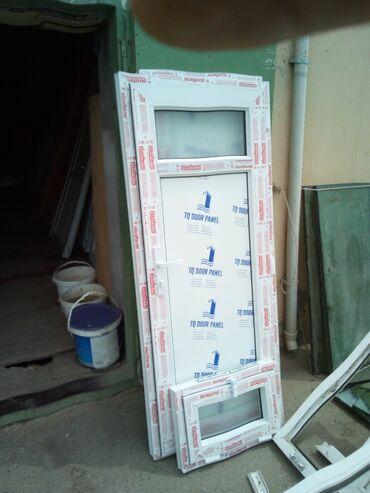 Teze plastik qapi pencere her formada her rezmere uygun yığılır