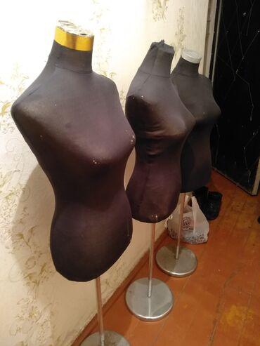Оборудование для бизнеса - Кыргызстан: Продаю манекены для моделирования ( 3 штуки) в хорошем состоянии
