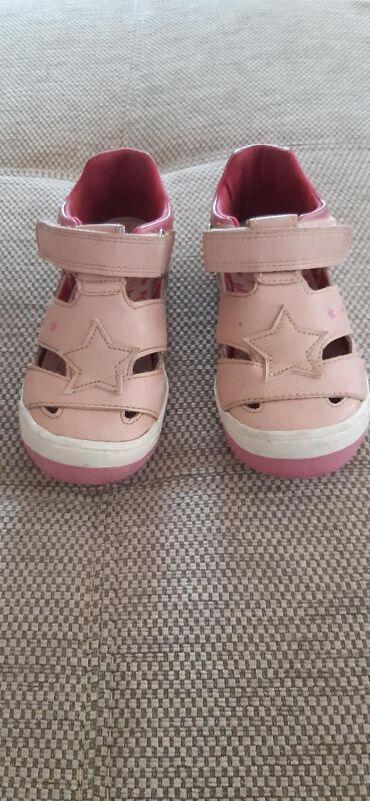 Carape sa prstima - Srbija: Decije sandale,veoma udobne sa zatvorenim prstima,vrlo malo nosene