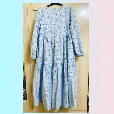 Детский мир - Ош: Платье в хорошем качестве. Производство: Турция. В очень нежно голубом