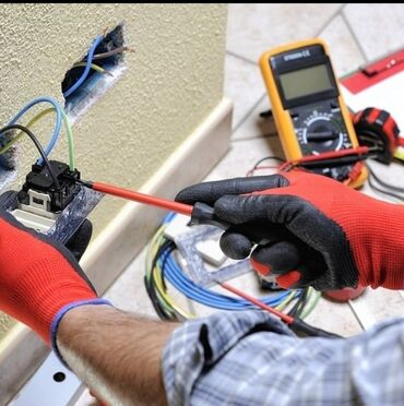 Услуги - Кок-Джар: Электрик   Установка счетчиков, Установка стиральных машин, Демонтаж электроприборов   Больше 6 лет опыта