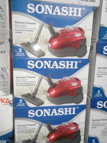 """Xırdalan şəhərində Tozsoran""""sonashi""""2400 wt,torbali,anbardan satis,elektrik ve tozsoran"""