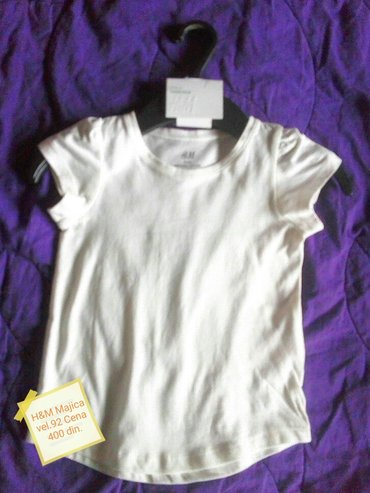 H&m majica nova sa etiketom 92 - Pancevo