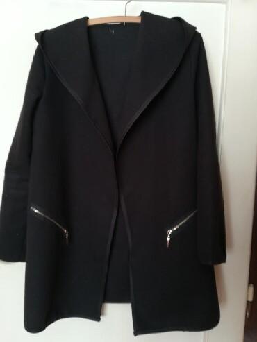 Style-majica-leptir-rukavi-crna-marka - Srbija: Crna jakna vel S, ramena 40, rukavi 61, duzina 80cm