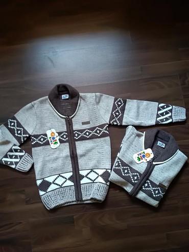 Dečija odeća i obuća   Ruma: Džemperi za dečaka - Novo. Veličine 6-7 i 8-9