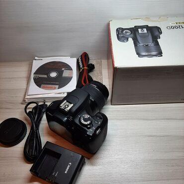 Canon 1200D tezedi demey olarki cox az isdifade edilib hec bir zedesiz