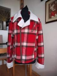Karirana-jakna-nemackoj - Srbija: New Yorker karirana jakna, postavljena, jako topla