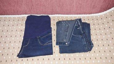 Продаю:слева джинсы для беременных s размер и комбинезон Размер 36. в