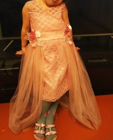 Платье новое произв. турция на 4-5 лет в Бишкек