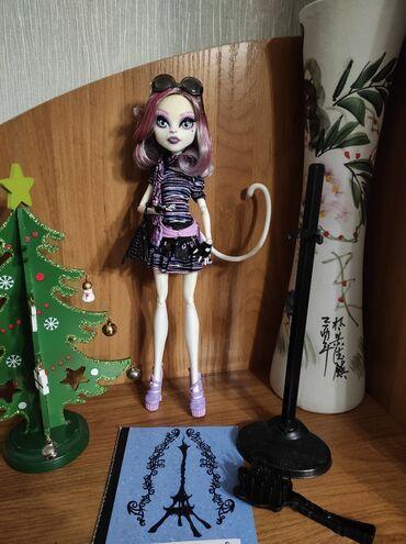 Кукла монстер хай,monster high, Катрин де Мяу, базовая из