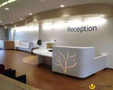 reception - Azərbaycan: Fitness zala reception xanim teleb olunur. rus dili selis danisiq