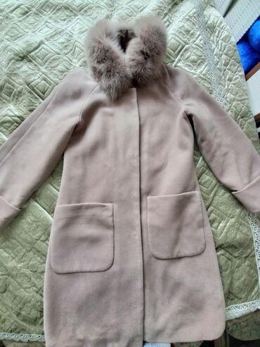 Продается пальто, почти новое, в отличном состоянии, цвет кофе или