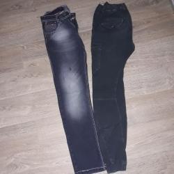 Farmerki pantalone - Srbija: 2 para farmerki,extra stanje i model. Vel 162 par-1000 ili pojedinacno