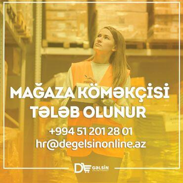 """De Gəlsin onlayn supermarket xanım namizədlər üçün """"Mağaza Köməkçisi"""""""