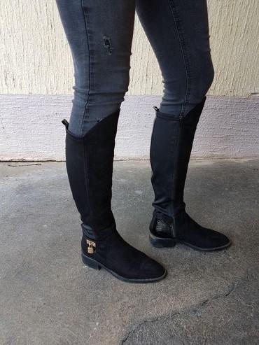 Ženska obuća   Vrbas: Čizme nošene jednu jesen