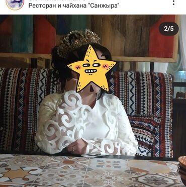 Детский мир - Темир: Продаю платье от Ademi art. Размер 46. Было одето только 1 раз