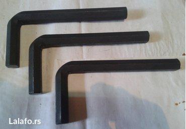 3 komada imbus ključa OK-19mm, kao na slici,cena je za sva - Nova Pazova