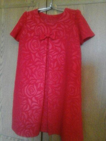 Продаю милое платье на девочку 5-7 лет,с кармашками,за 500 сом в Бишкек
