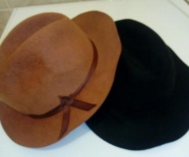 Ženski šeširi zimskii cena po komadu 600 dinara, braon prodat ostala