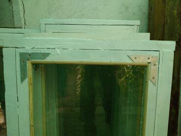 Продаю окна деревянные с рамойпокрашены состояние отличное! Разме