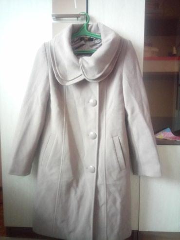 Женское пальто 46-48 размера, одевала 2-3 в Кара-Балта