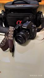 цифровой фотоаппарат в Азербайджан: Canon 80D + 18-55mm STM.Камера совершено новая.Сверху даю новую сумку