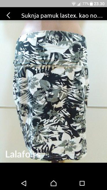 Suknja velicina L. Pamuk sa elastinom. Kupljena u inostranstvu. - Bajina Basta