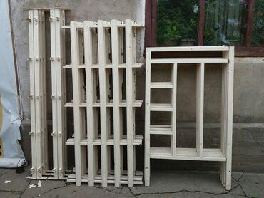 двухъярусные кровати бу в Кыргызстан: Продам двухъярусные кровати. Разборные.  Б/У. Высота 150 см Ширина 90