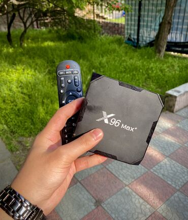 wifi приемник для телевизора в Кыргызстан: Продаю X 96 max (3х штук)Цена : 3000 сом Звонить или писать тут.WIFI