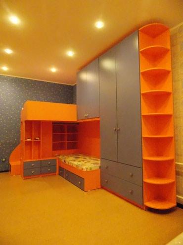 Двухъярусный кровать + шкаф в Бишкек