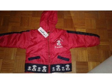 Jakna crvena vel. 4-5 novoJakna zimska crvena sa dalmatincima  - Belgrade