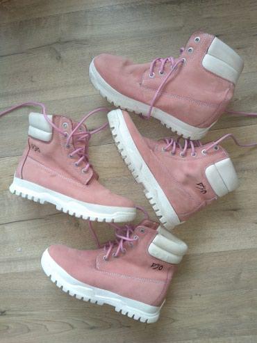 Продаю женскую обувь б/у, розовые в Бишкек