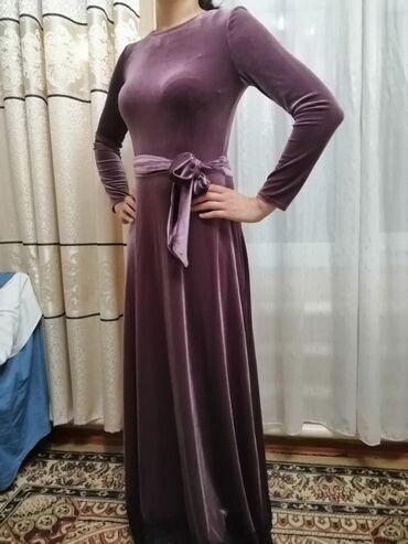 платье из королевского бархата в Кыргызстан: Платье Вечернее 9Fashion Woman