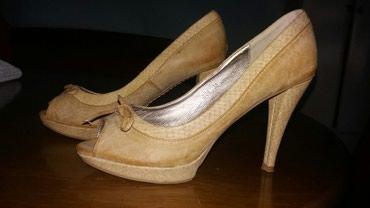 Sandale od prave kože, lepe i veoma elegantne , kratko nošene u - Nis