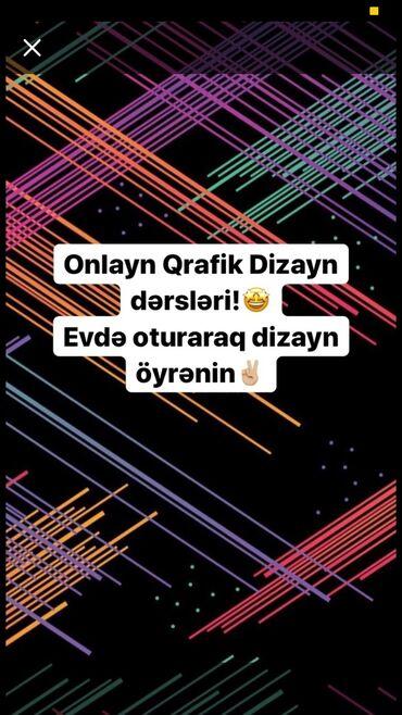 qrafik dizayn - Azərbaycan: Qrafik Dizayn dərsləri: onlayn şəkildədir,Proqramlar istəyə görə tək d