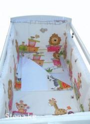 Комплект бортиков в кроватку (4 в Бишкек