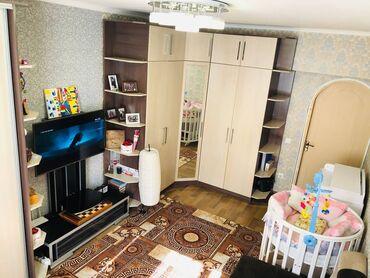 Продажа квартир - Жженый кирпич - Бишкек: Индивидуалка, 2 комнаты, 42 кв. м Бронированные двери, С мебелью, Кондиционер