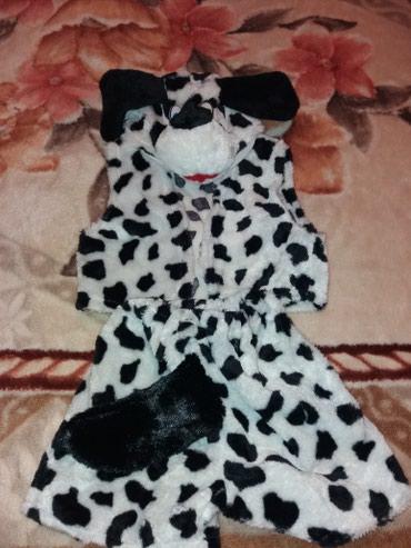Костюм на новый год, долматинец, на 4-5 лет. одевали 1 раз. в Бишкек