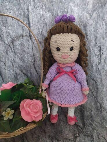 детские игрушки куклы в Кыргызстан: Кукла Анабель для настоящих принцесс,нитки хлопок Турция, наполнитель