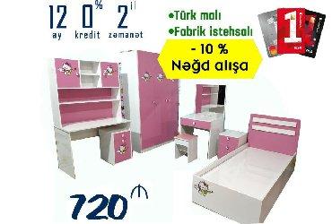 Qız otağı dəsti - 720 AZN Nisyə şərtləriİlkin ödəniş - 222 AZN12 ay - в Bakı