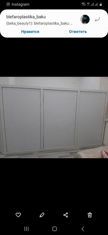 перегородки - Azərbaycan: Arakəsmə satılır, hec istifadə olunmayıb, plastikdan baha düzəltirilib